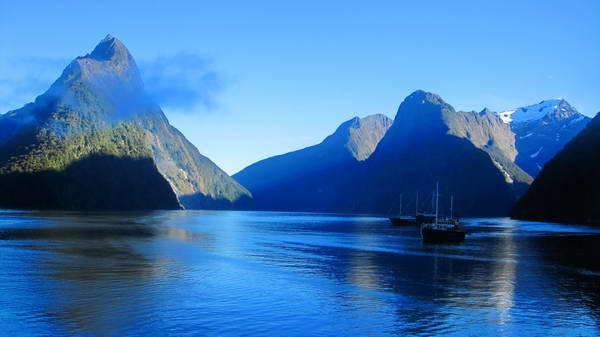 מילפורד סאונד, האי הדרומי של ניו זילנד