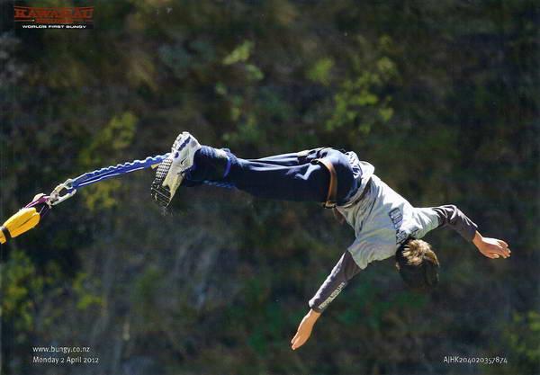 קפיצת בנג'י, ניו זילנד