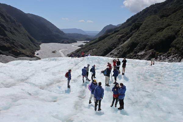 קרחון פרנץ יוזף, החוף המערבי, ניו זילנד
