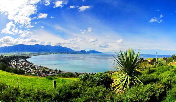 מפרץ קאיקורה, האי הדרומי של ניו זילנד