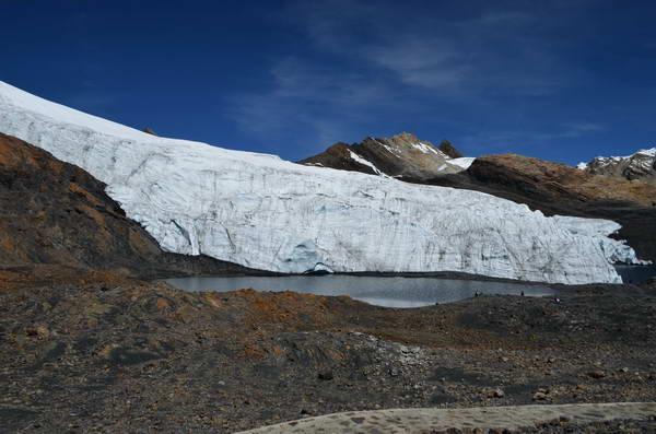 קרחון פסטרורי, קורדיירה בלאנקה, פרו