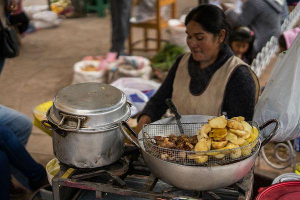 אוכל רחוב בפרו