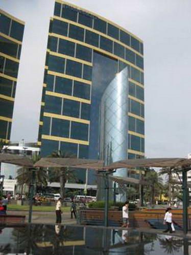 מרכז הקניות לארקומאר במיראפלורס, לימה, פרו