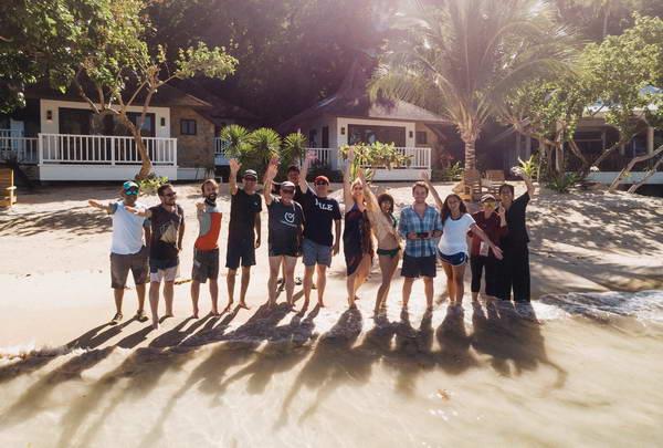 האי בו צולמה הישרדות הפיליפינים