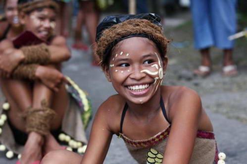 ילד באי קמיגין