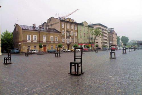 אנדרטה להנצחת כיכר השילוחים של קרקוב