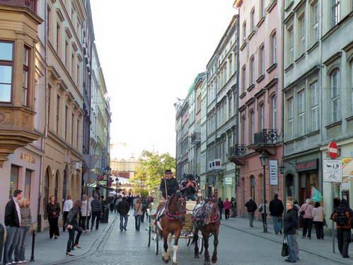 העיר העתיקה קרקוב