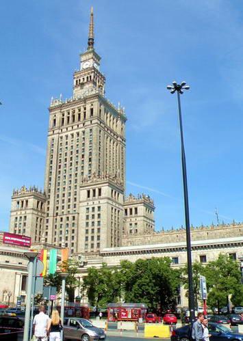 ורשה ארמון התרבות