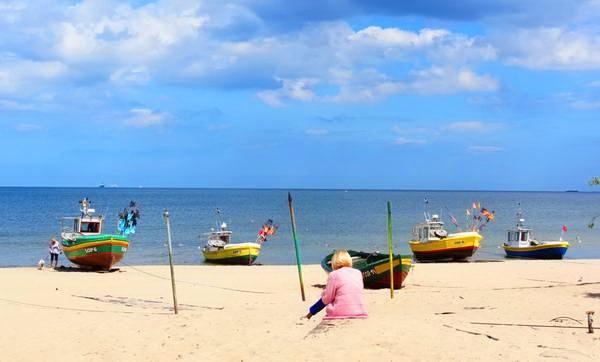סופוט, חוף הים