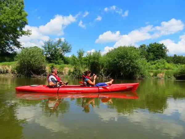 קייקים על נהר בוג, פולין