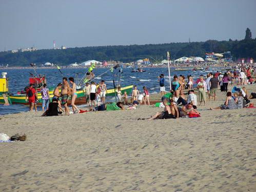 חוף רחצה ליד סופוט