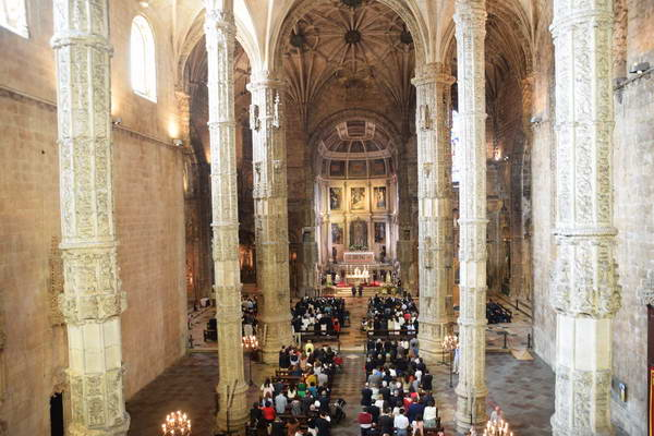 כנסיית מנזר ז'רונימוש, בלם, ליסבון