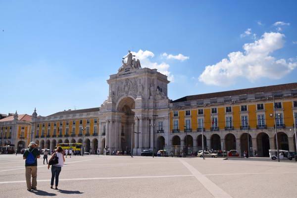כיכר קומרסיו, מרכז ליסבון