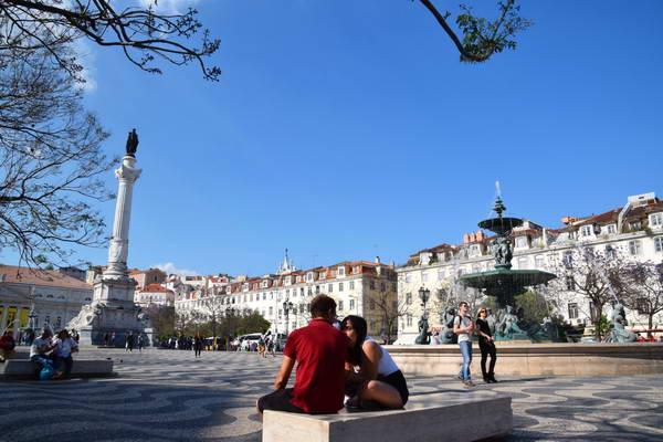 כיכר רוסיו, מרכז ליסבון