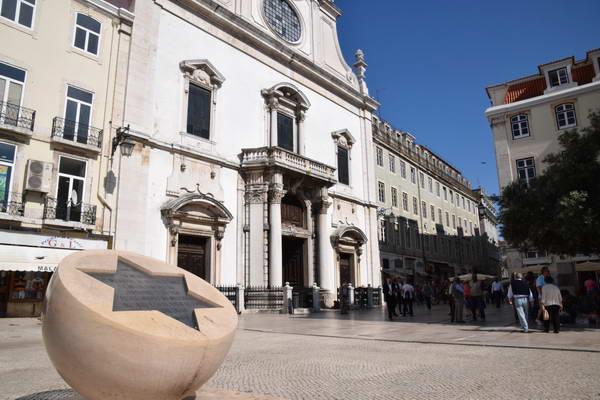 אנדרטה לרצח היהודים, מרכז ליסבון