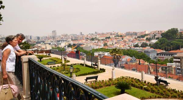 תצפית על ליסבון, סאו פדרו דה אלקאנטרה