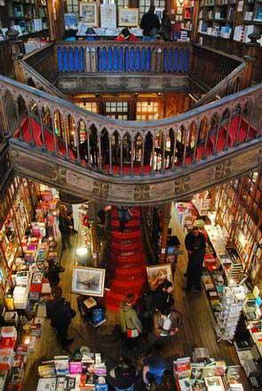 פורטו, חנות הספרים ללו