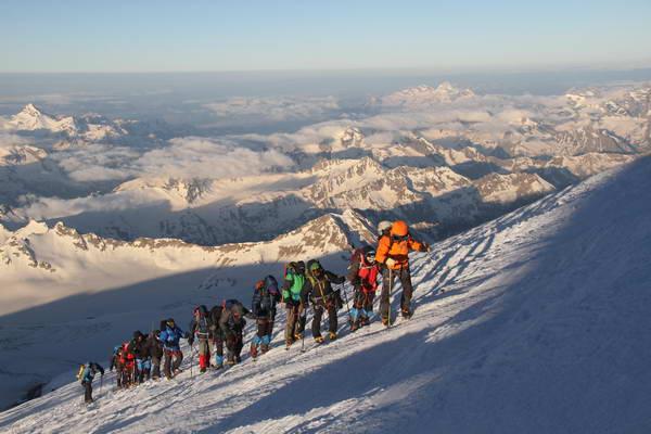 הר אלברוס, הקווקז, הפסגה הגבוהה באירופה