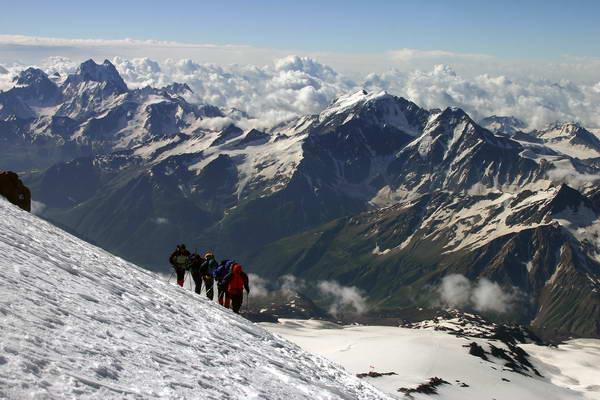 הר אלברוס, ימי התאקלמות