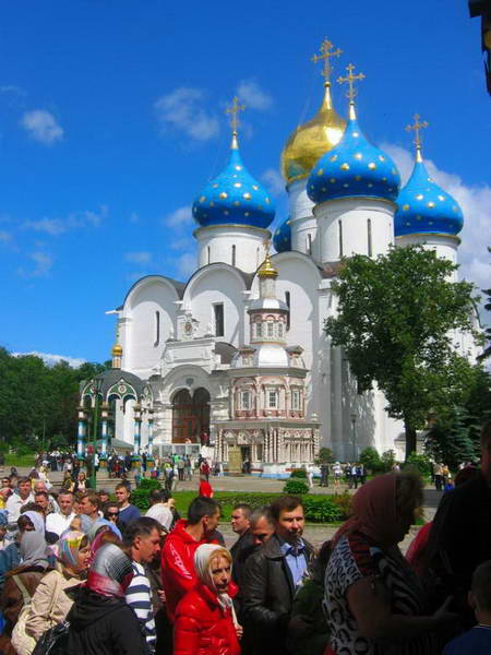 רוסיה, טבעת הזהב, סרגייב פוסאד