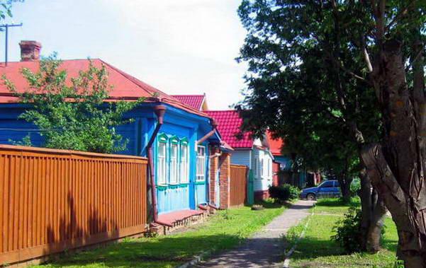 רחוב כפרי בשולי רוסטוב