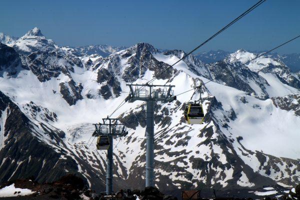 נוף ממרום הר אלברוס