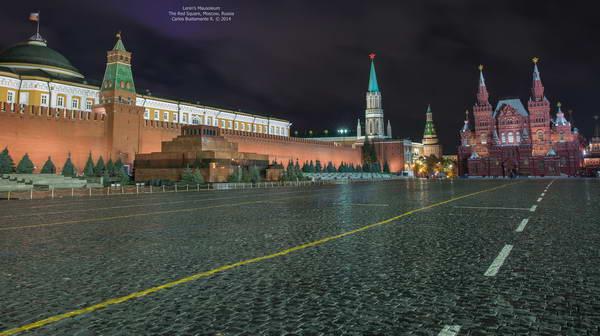 מוסקבה, המוזוליאום של לנין