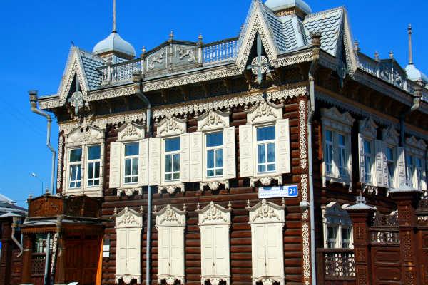 בתים בסיביר, אירקוטסק