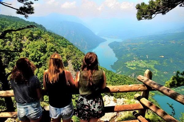 נהר דרינה, סרביה