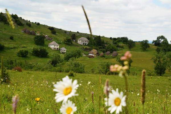 כפר קטן במערב סרביה