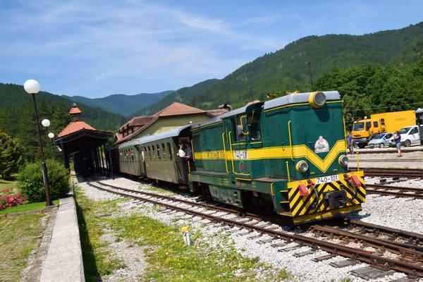 רכבת הקיטור שארגן 8, מערב סרביה