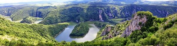 נהר אובאץ, מערב סרביה