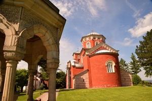 עמק המלכים, עיר המלכים, מנזר זיצה,  סרביה