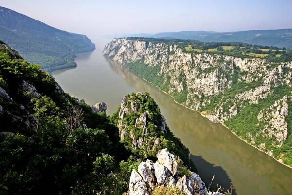 הדנובה, סרביה