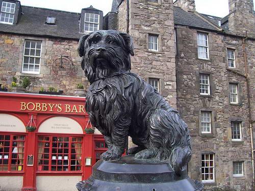 בובי הכלב הנאמן, אדינבורו, סקוטלנד