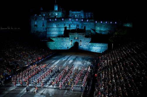 המצעד הצבאי, אדינבורו, סקוטלנד