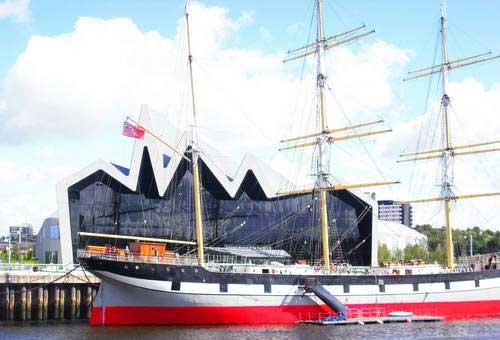 הספינה גלנלי, גלאזגו, סקוטלנד