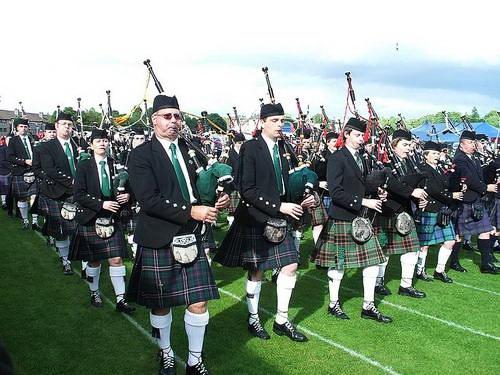 סקוטלנד, חמת חלילים