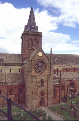 איי אורקני, קירקוול- קתדרלת מגנוס  הקדוש, סקוטלנד