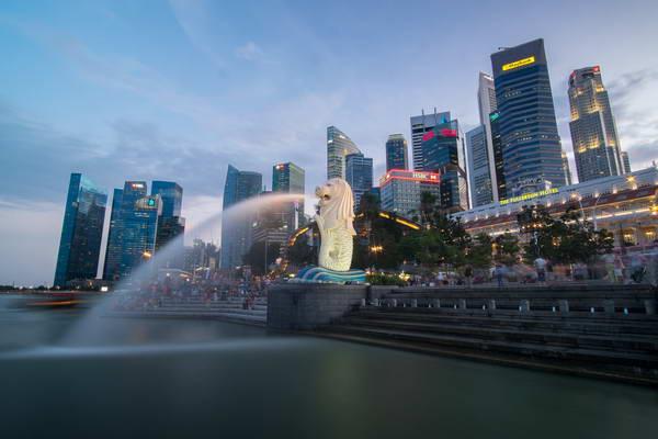 הנמל של סינגפור