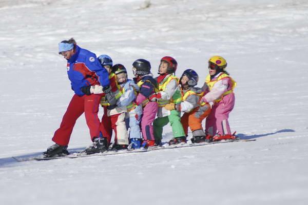 שעורי סקי לילדים