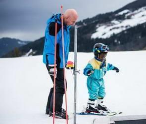 סקי עם הדרכה בעברית