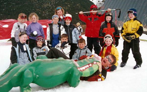 לימוד סקי לילדים