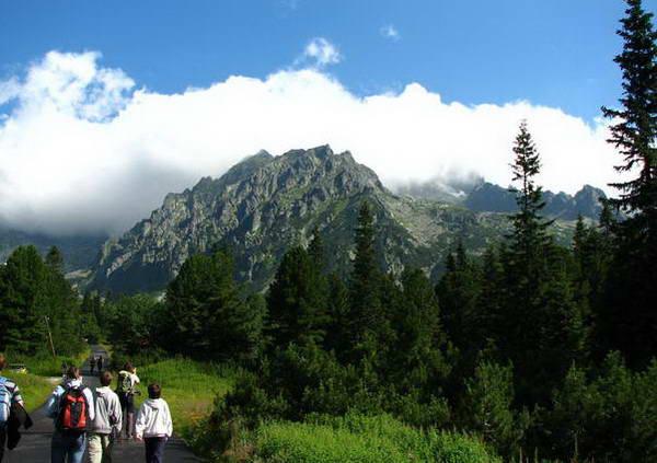 הרי הטטרה הגבוהים, סלובקיה