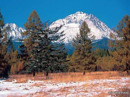 פסגת גרלאחובסקי בחורף, הגבוהה ביותר בהרי הטטרה והקרפטים