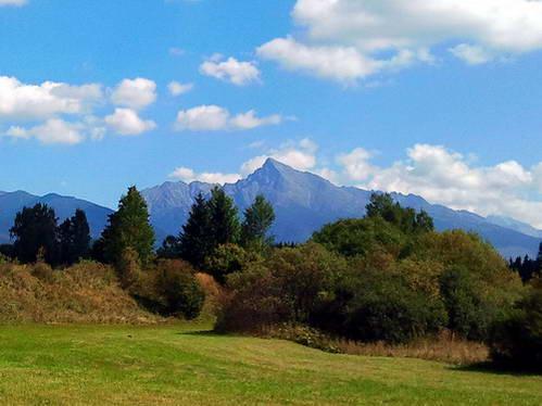 פסגת קריוואן, מהיפות בפסגות הטטרה ומסמליה הלאומיים של סלובקיה