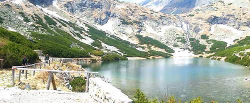 אגם אלפיני, הרי הטטרה הגבוהים, סלובקיה