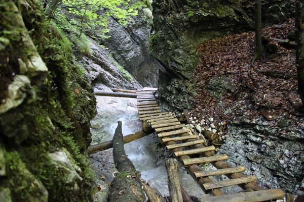 מסלולי הליכה בסלובקיה, גן העדן הסלובקי