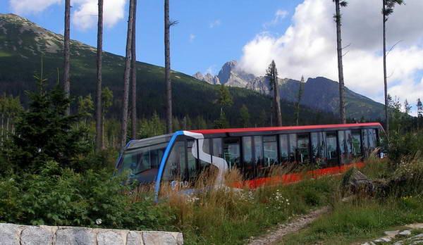 סטארי סמוקובץ', פוניקולר להרי הטטרה הגבוהים, סלובקיה