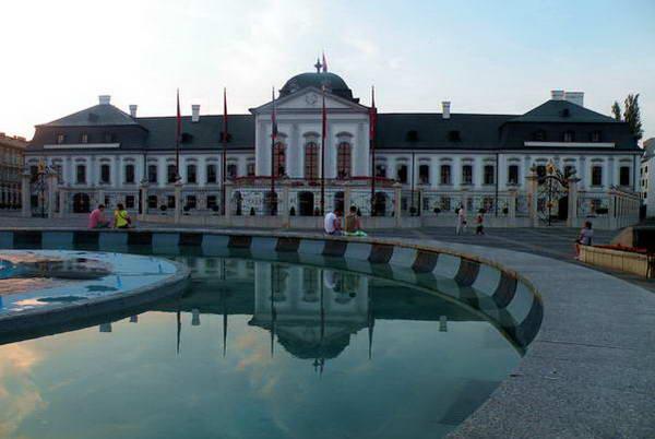 ארמון גרשלקוביץ בברטיסלבה, סלובקיה